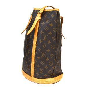 LOUIS VUITTON BUCKET GM SHOULDER TOTE BAG